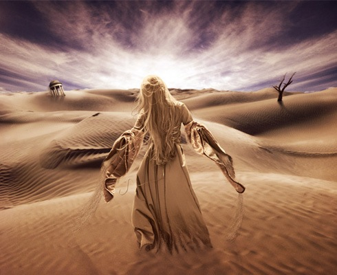 desert 40 Best Photoshop Tutorials From 2011
