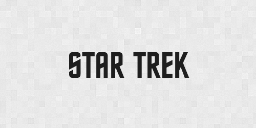 Startrek 20 Free Fonts Used In Iconic Movies