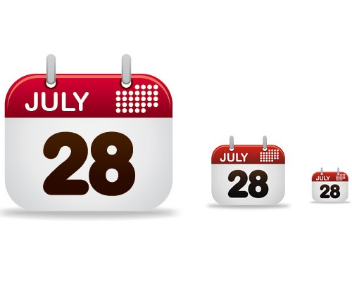 calender 50 Illustrator Tutorials To Create High Quality Icons