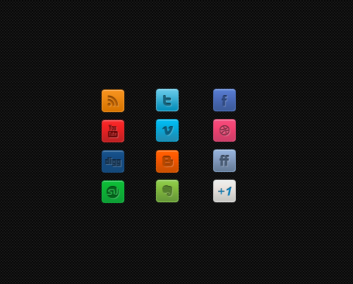 clean-mini-social-media-icon-set