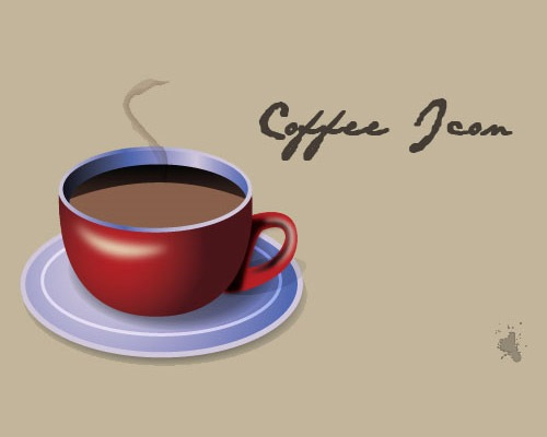 coffiecup 50 Illustrator Tutorials To Create High Quality Icons