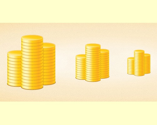 coins 70 Illustrator tutorials for creating icons