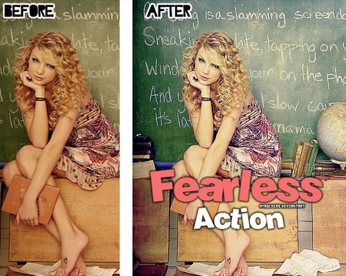 fearlessaction 25 Time Saving Photoshop Actions For Enhancing Photographs