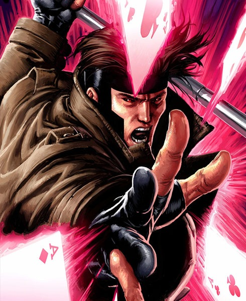 gambit 40 Spectacular Digital Paintings And Illustrations Of Super Hero's