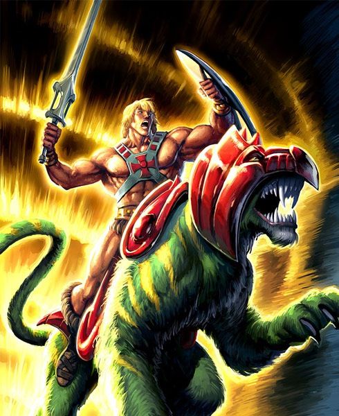 heman 40 Spectacular Digital Paintings And Illustrations Of Super Hero's