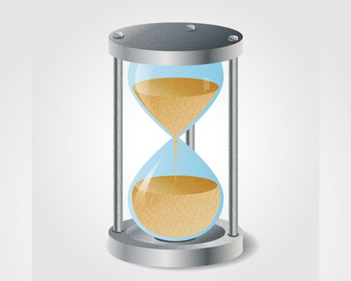 hourglass 50 Illustrator Tutorials To Create High Quality Icons