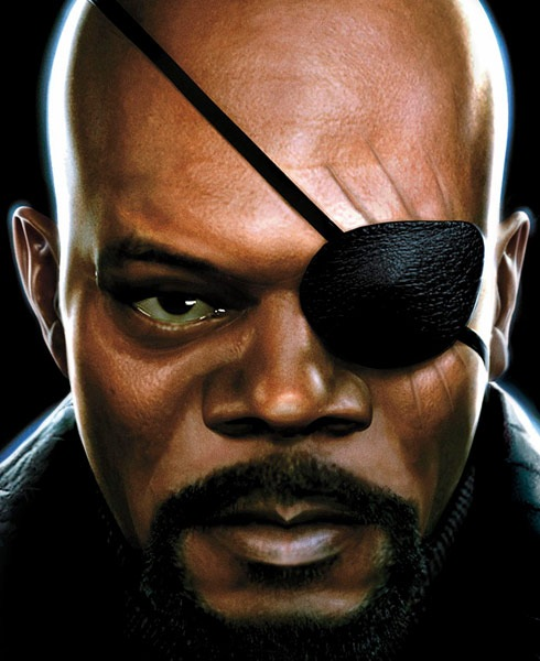 nickfury 40 Spectacular Digital Paintings And Illustrations Of Super Hero's
