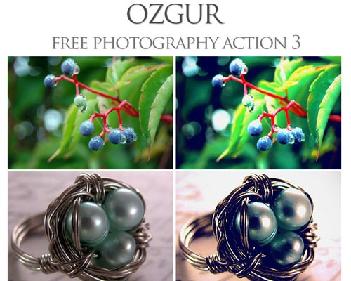 ozguar 25 Time Saving Photoshop Actions For Enhancing Photographs
