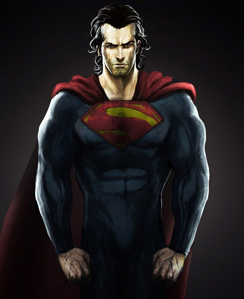 superman2 40 Spectacular Digital Paintings And Illustrations Of Super Hero's