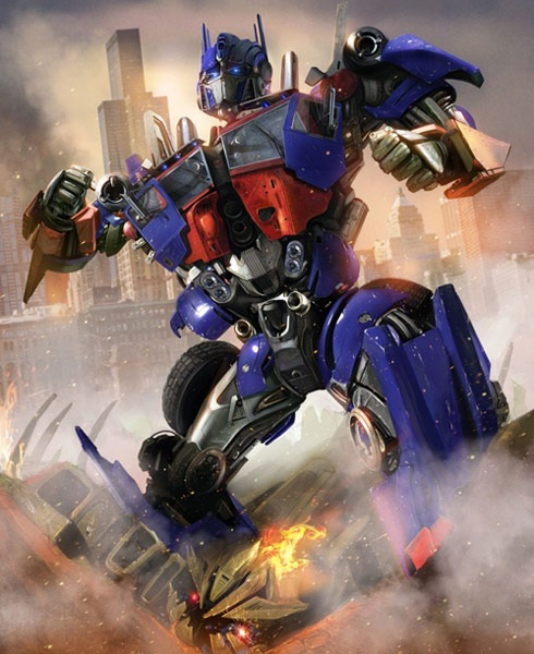 transformers 40 Spectacular Digital Paintings And Illustrations Of Super Hero's