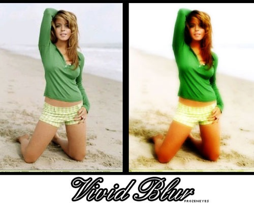 vivid-blur-action