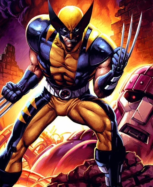 wolverine 40 Spectacular Digital Paintings And Illustrations Of Super Hero's