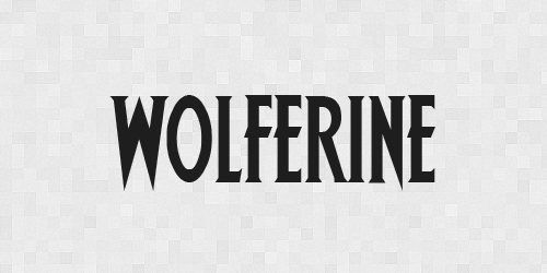 wolverine 20 Free Fonts Used In Iconic Movies