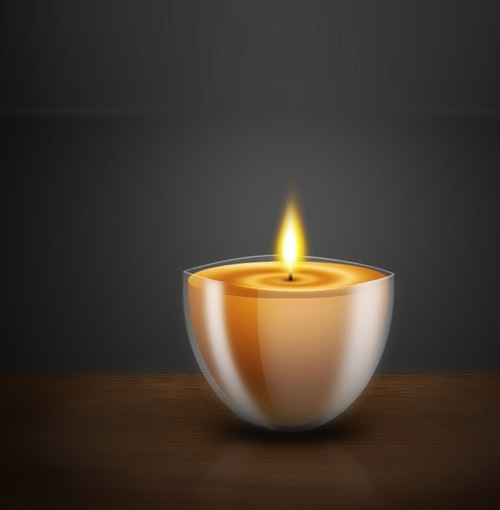 candle 30 Photoshop Tutorials For Creating Beautiful Illustration