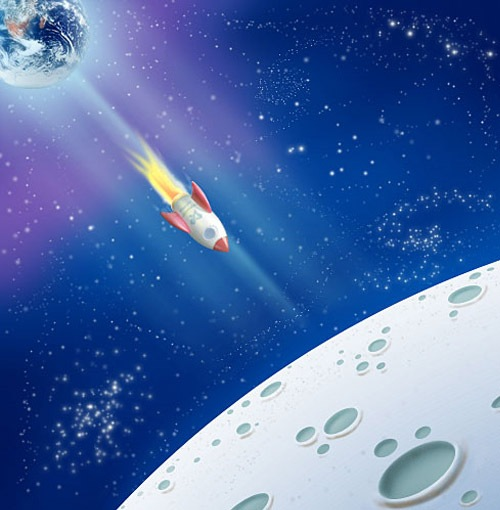 spaceillustration 30 Photoshop Tutorials For Creating Beautiful Illustration