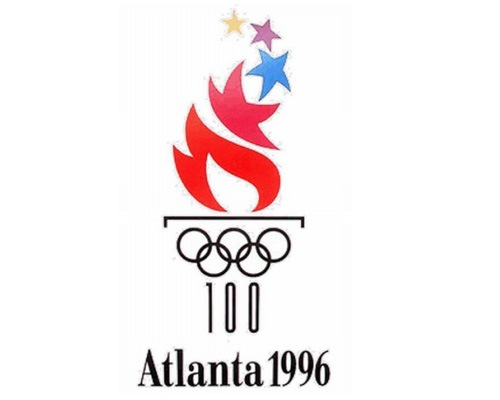 1996atlantaolympiclogodesign The Evolution Of the Summer Olympics Logo Design From 1924 To 2016