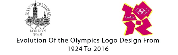 evoutionofolympiclogo The Evolution Of the Summer Olympics Logo Design From 1924 To 2016