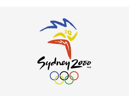 sydney2000logodesign The Evolution Of the Summer Olympics Logo Design From 1924 To 2016
