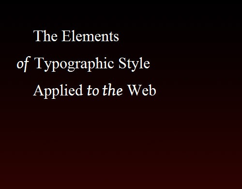 typographic-web