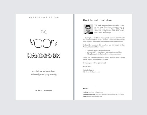 workhandbook 20 Free E books For Web Designers