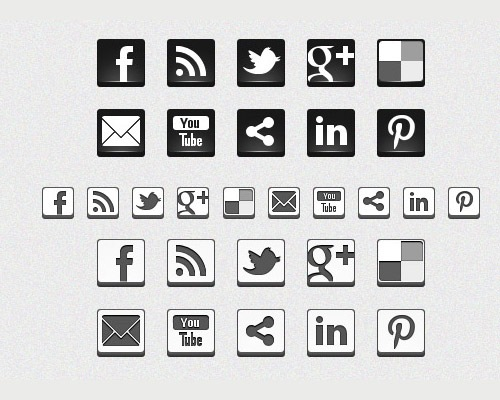 black-and-white-icons