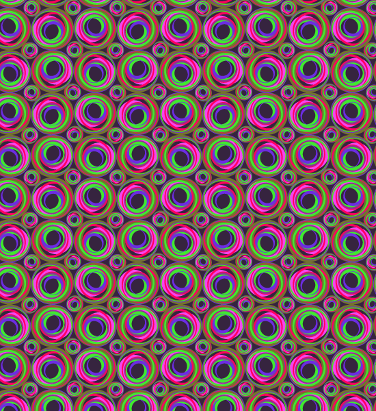 colorfulpinkredpattern Colorful Vibrant Abstract Pattern Set