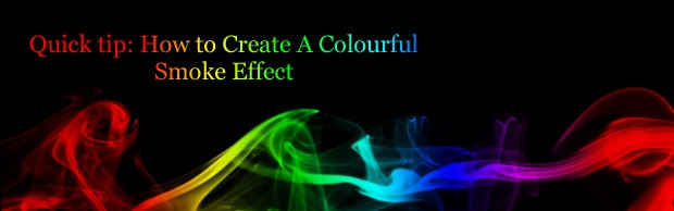 colorfulsmokeeffectbanner Quick tip: How to Create A Colourful Smoke Effect
