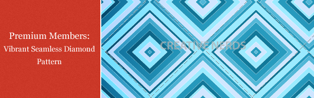 vibrant seamless pattern creative nerds premium Premium Members: Vibrant Seamless Diamond Pattern