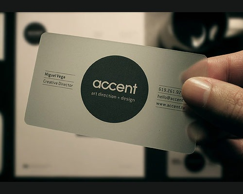 accentcreative 70 Creative And Innovating Business Card Designs You Must See