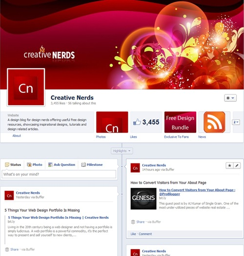 all-new-facebook-page-design