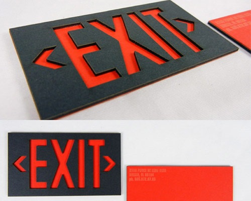 existbusinesscards 70 Creative And Innovating Business Card Designs You Must See