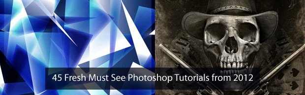 freshphotoshoptutorials2012 45 Fresh Must See Photoshop Tutorials from 2012