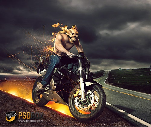 hellrider 45 Fresh Must See Photoshop Tutorials from 2012