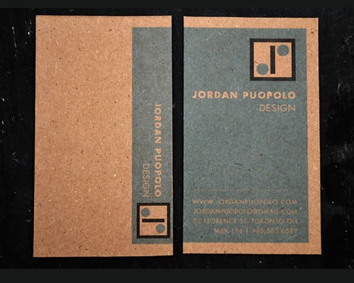 jordonbusinesscard 70 Creative And Innovating Business Card Designs You Must See