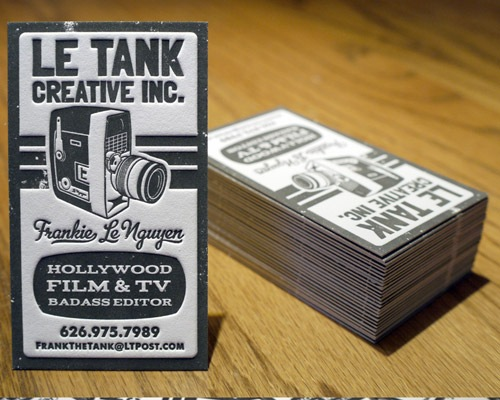 letank 70 Creative And Innovating Business Card Designs You Must See