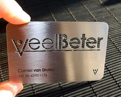 metalbusinesscarddesign 70 Creative And Innovating Business Card Designs You Must See