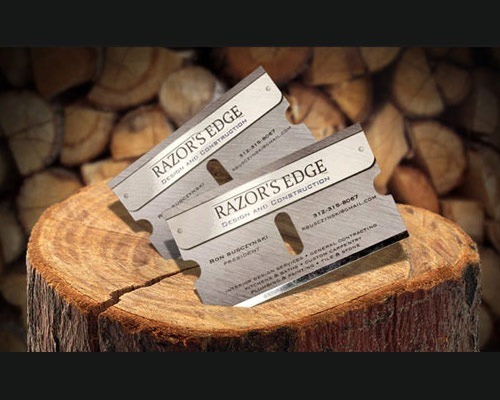 razoredgebusinesscards 70 Creative And Innovating Business Card Designs You Must See