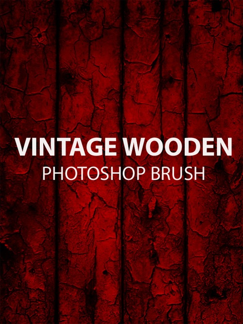 vintagewoodenphotoshopbrush An Awesome Free Design Bundle For Designers