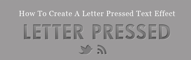 letter-pressed-text-effect-banner