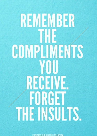 rembercompliments 70 Design And Motivational Quotes Visualised A Must Read