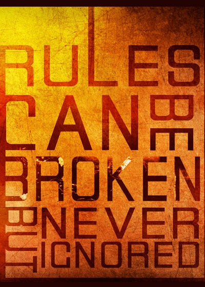 rulescanbebroken 70 Design And Motivational Quotes Visualised A Must Read