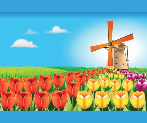 tulips 75 Best Illustrator Tutorials From 2012