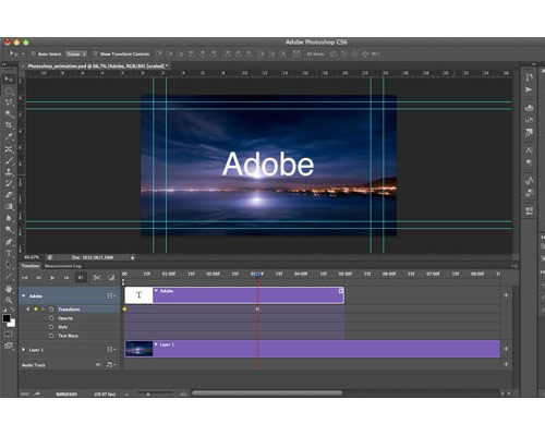 createanimationwithaudio 35 Tutorials For Mastering All The New Features In Photoshop CS6