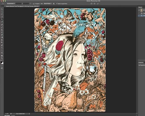newcroptool 35 Tutorials For Mastering All The New Features In Photoshop CS6