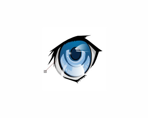 animestyleeyeillsustration 50 Tutorials For Creating Vector Graphics Using Free Software Inskape