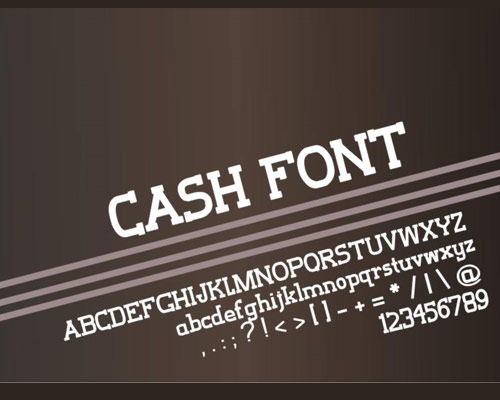 cashfont 100 Best free fonts to use for creating a logo