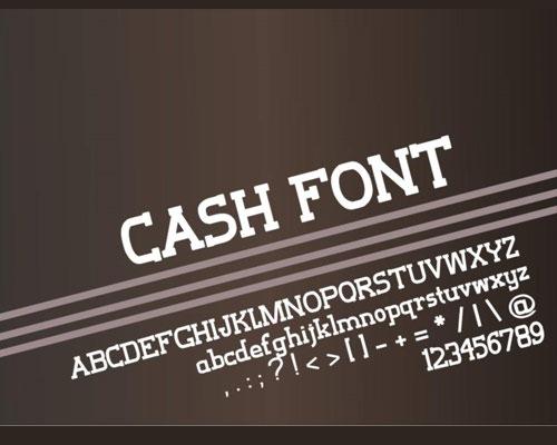 cash-font