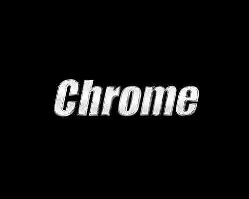 chrome-text-effect