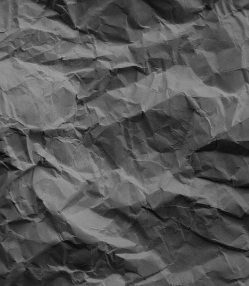 dark crumpled textures