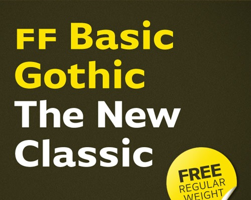 ffbasicgothic 60 Best Free Fonts To Use In Your Next Logo Design Project